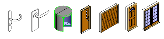 Revit door families download