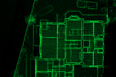 Full house point cloud. RGB