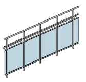 Revit railing and fence families download
