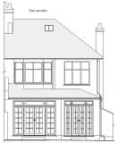 Measured building surveys. Elevation