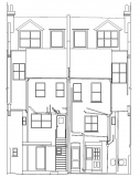 Measured building surveys. Elevation