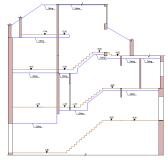 Measured building surveys. Section