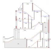 Measured building surveys. Section