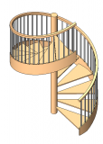 Revit stairs families