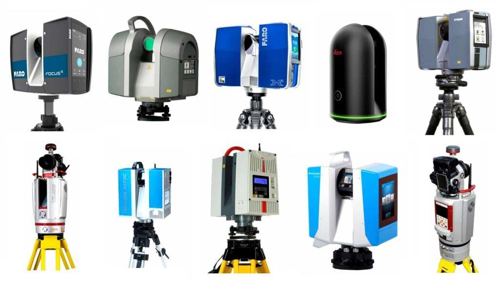 Point cloud surveys equipment