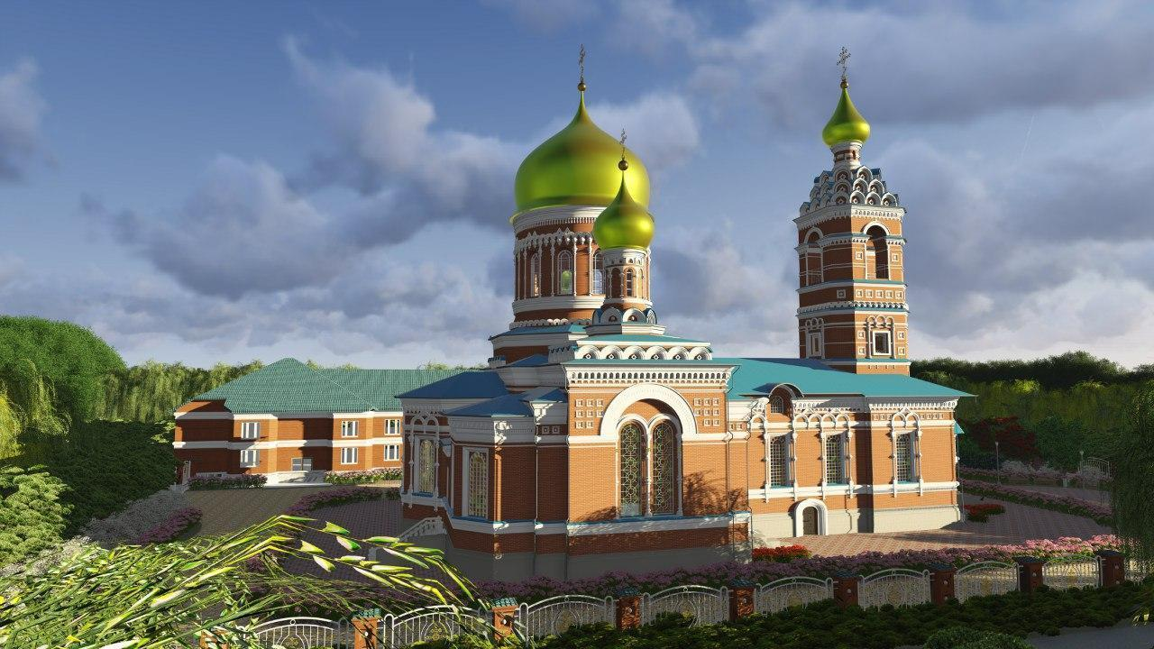 Russian church Revit model