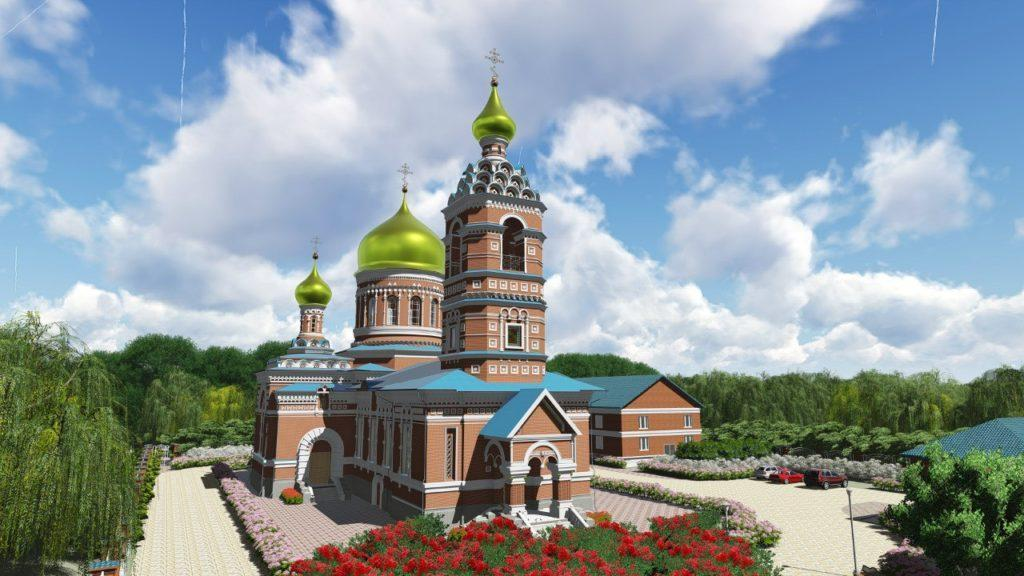 Russian church Revit model