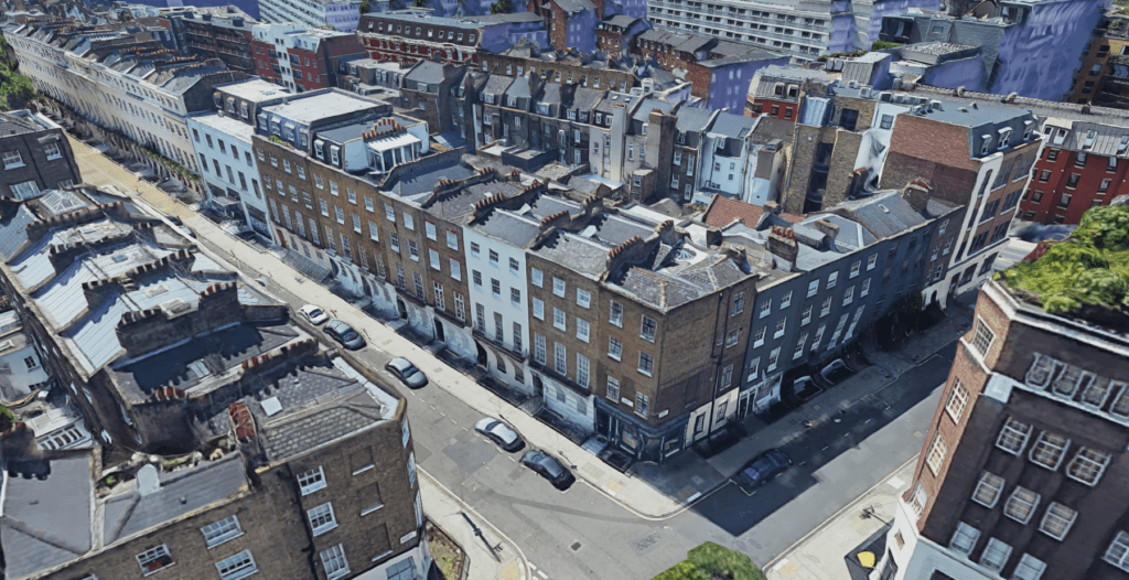 London, Fitzrovia, Pointcloud
