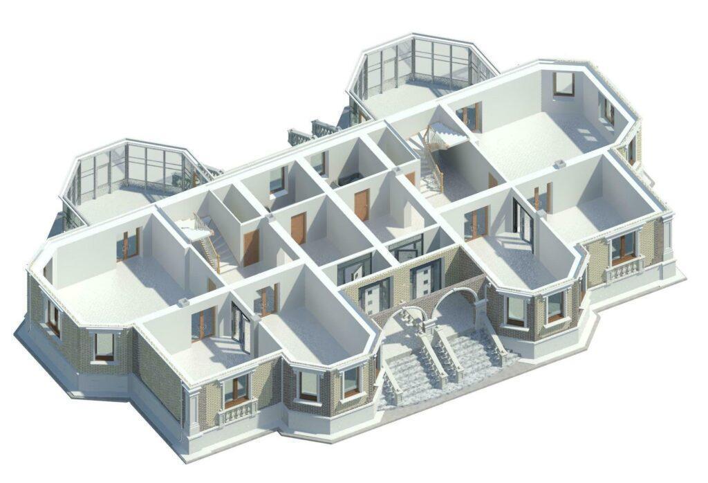 Revit model house