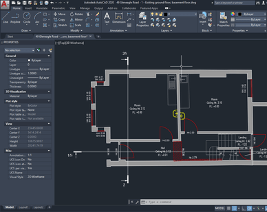 As-Built 2D AutoCAD