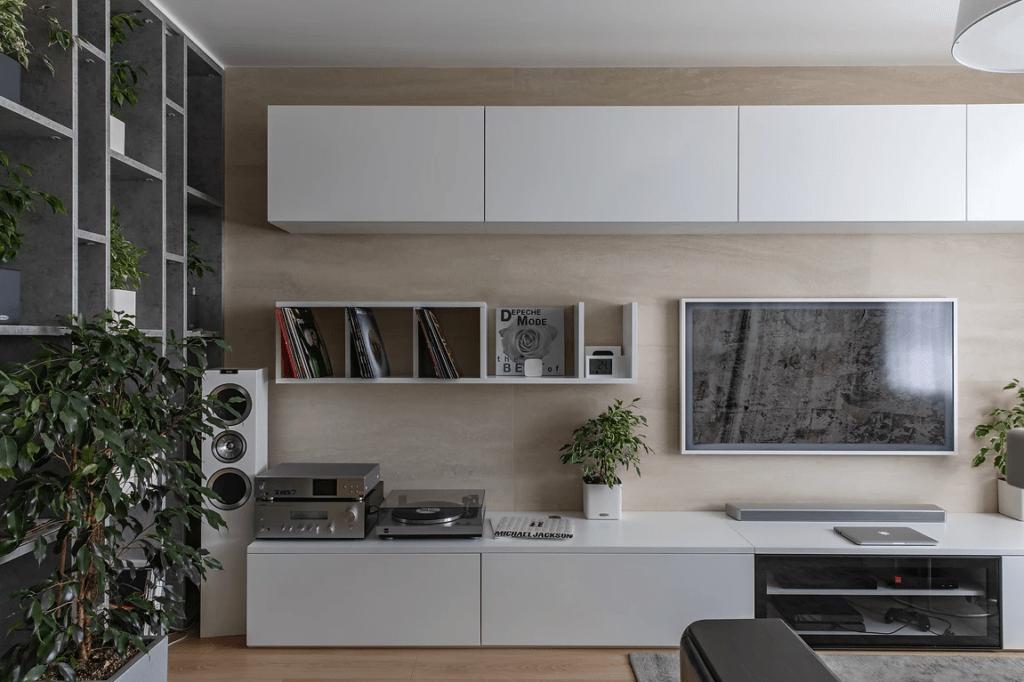 Interior of the apartment 86m2 2018